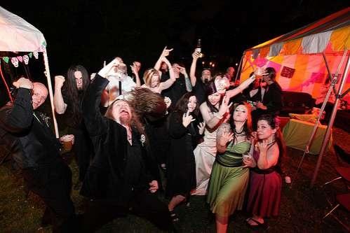 Mellisa and Phil's Heavy Metal Wedding
