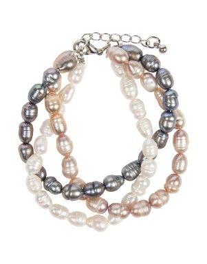Pearl Twisted Bracelet