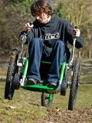 Mountain Trike All Terrain Wheelchair: This is a great idea which has long been overdue.