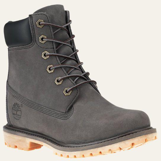 Timberland   Women's 6-Inch Premium Waterproof Internal Wedge Boots