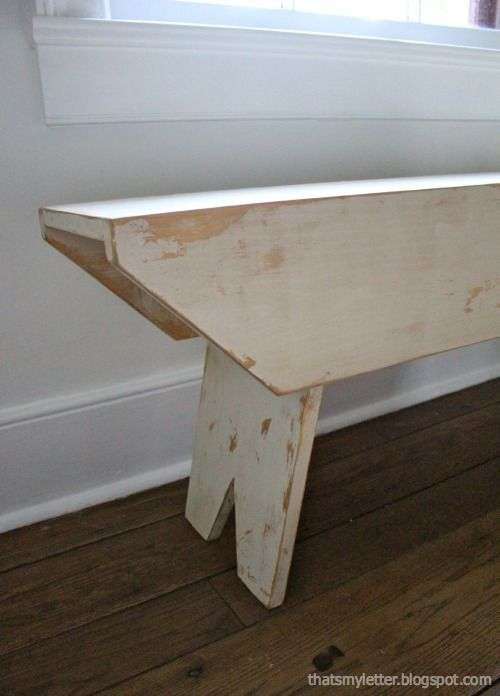 Ana White | Build a Primitive Bench for Haven Conference | Free and Easy DIY Project and Furniture Plans