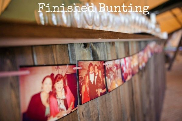 finsihed bunting