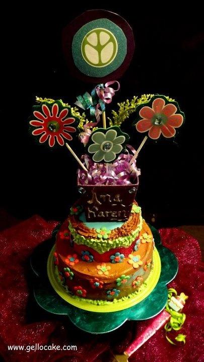 Hippie Birthday Party Theme.