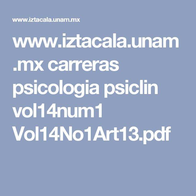 www.iztacala.unam.mx carreras psicologia psiclin vol14num1 Vol14No1Art13.pdf