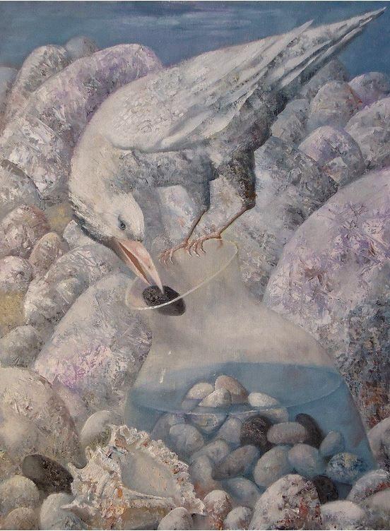 Павел Антипов и его философские картины. Жажда. 60х80 Холст, масло 2013