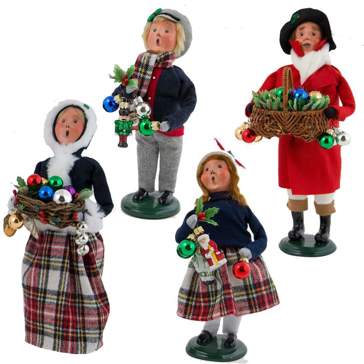 Christmas Caroling Family Set Of 4: 16 Best Byers' Choice Carolers