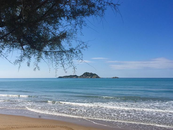 Arillas beach. #GreenCorfu - greencorfu.com - https://pinterest.com/greencorfu/