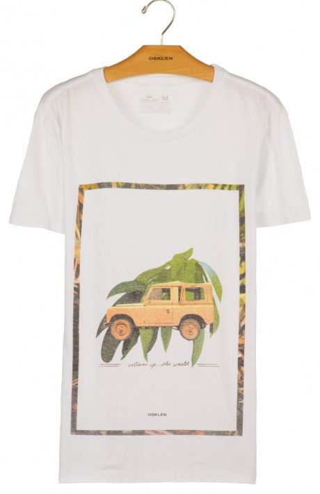 Osklen - T-SHIRT STONE VINTAGE ROLLING JEPS - t-shirts - men