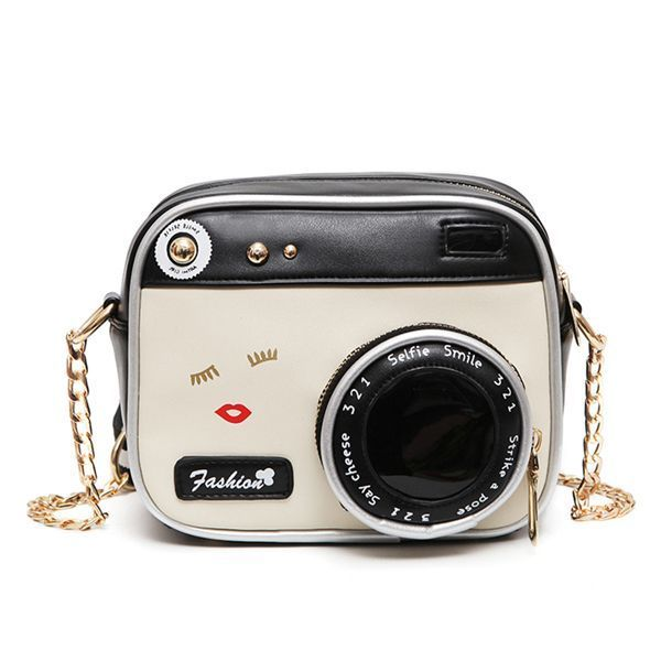 Women 8217 S Crossbody Bag Vintage Camera Shape Colorblock