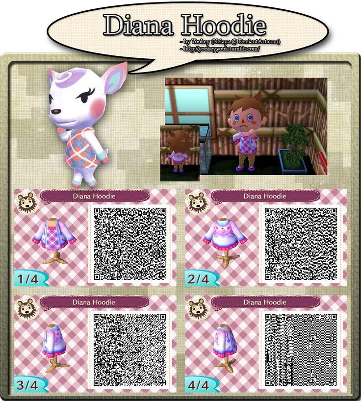 Pin auf Animal crossing clothing qr code