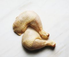 Baking frozen chicken drumsticks