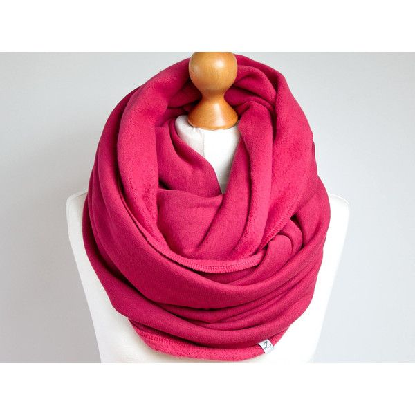 Infinity Scarf, hooded infinity scarf, PINK chunky infinity scarf,... ($22) ❤ liked on Polyvore featuring accessories, scarves, circle scarf, pink shawl, loop scarf, chunky infinity scarves and chunky circle scarf