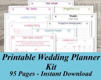 planning printables for a DIY planning binder