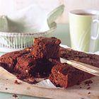 Brownies van donkere chocolade met pecannoten - recept - okoko recepten