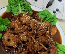 Asian Sesame Ginger Pork   Official Thermomix Recipe Community