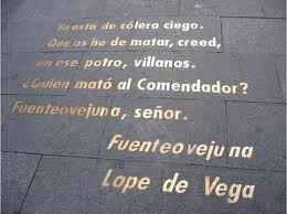 Homenaje a Lope de Vega en la Calle Huertas