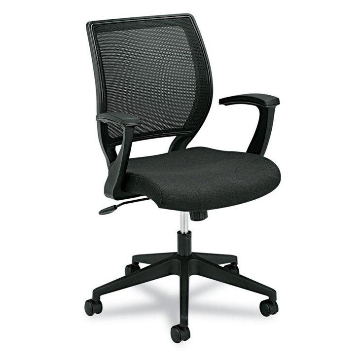 Basyx by HON VL521 Mid-Back Work Chair - Black