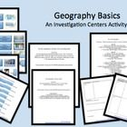 $5.60 Geography Basics! This is a complete set of 5 games or activities to review the basic ideas of geography, including the 5 Themes of Geography, Longitude