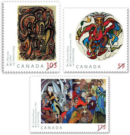 Canada Post - 2011   Art Canada: Daphne Odjig