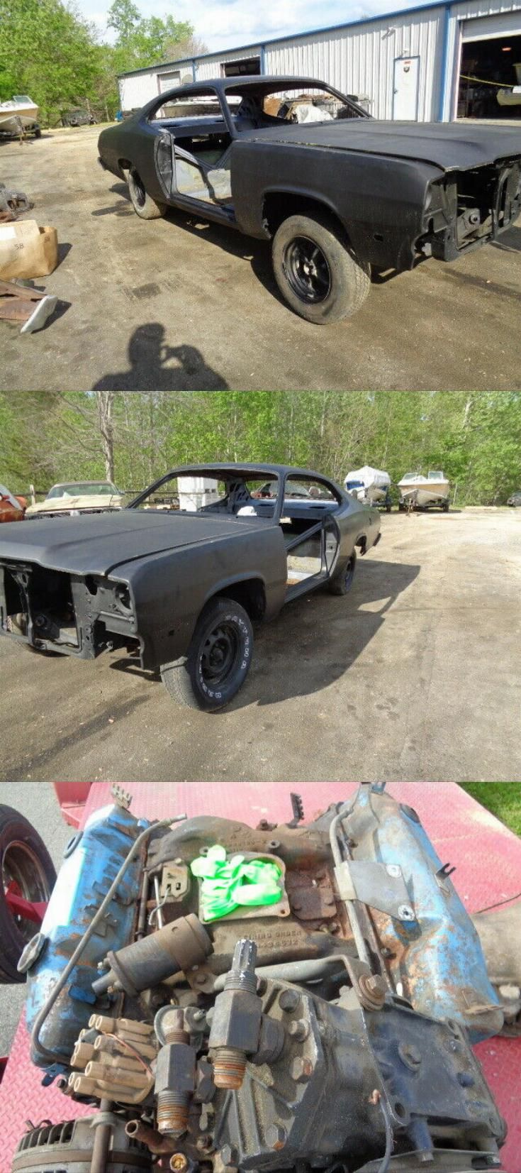 Pretty Solid 1974 Plymouth Duster 440 727 Torque Flight Project In 2020 Project Cars For Sale Plymouth Duster Plymouth