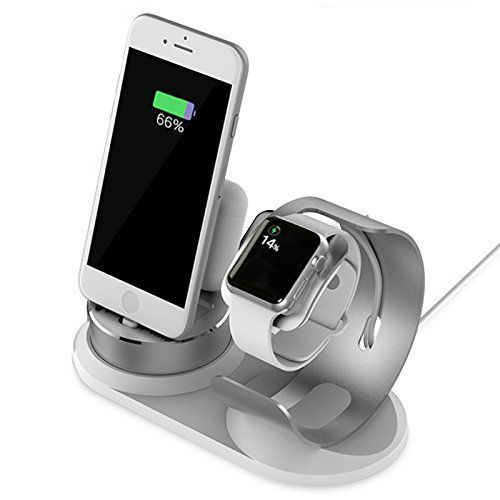 Apple Watch Stand,iPhone AirPods Stand Accessories, 4 in 1 Aluminum Charger Stand Dock Station for iWatch Series 3/2/1 /AirPod /iPhone X/8/8 Plus/7/7 Plus /6s /6s Plus /5c /Se /iPad /Apple Pencil Dock #Apple #Watch #Stand,iPhone #AirPods #Stand #Accessories, #Aluminum #Charger #Dock #Station #iWatch #Series #/AirPod #/iPhone #Plus// #Plus #/iPad #/Apple #Pencil #iphoneairpods,