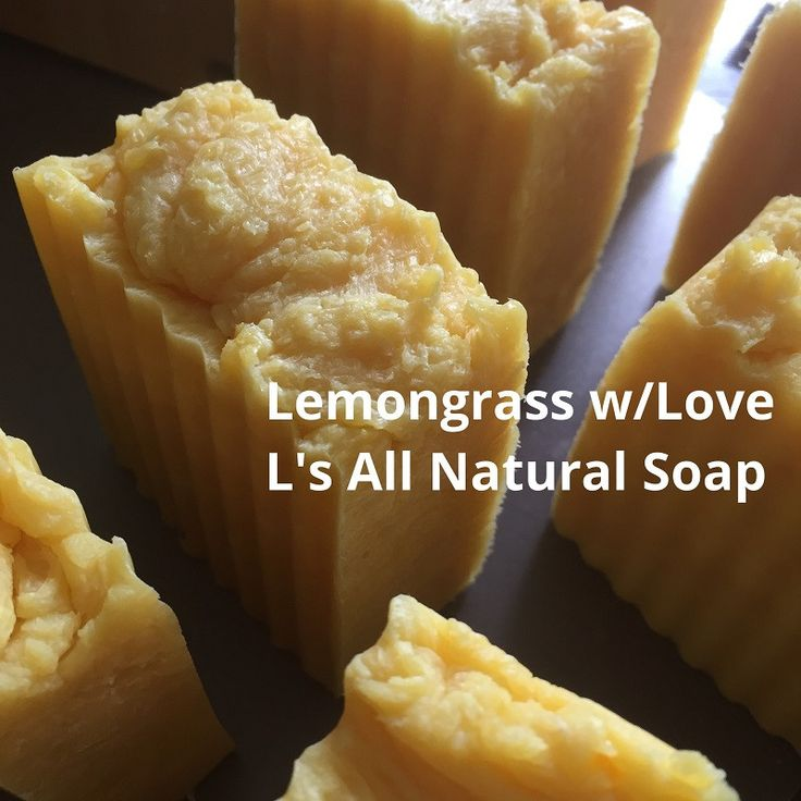 Lemongrass W/Love Bar Soap (Net Wt. 4 oz.-5 oz.)