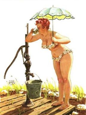 Hilda: Girls Hilda, Hilda Pin Up, Hildapinup, Duane Bryer, Pinup Girls, Hilda Pinup, Pinup Hilda, Pin Up Girls, Drinks Water