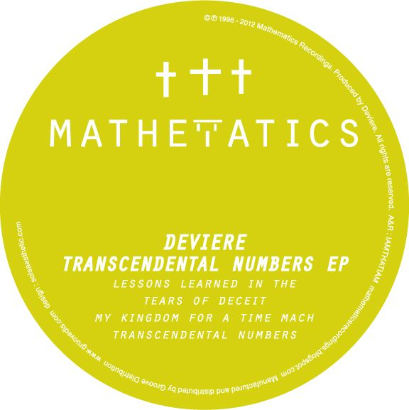 DeViere – Transcendental Numbers EP