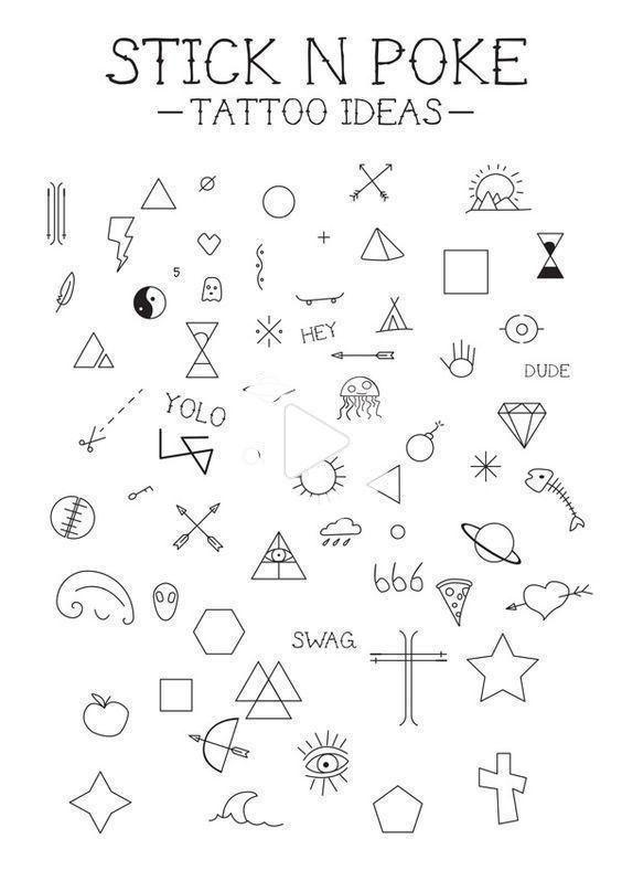Piuttosto piccole semplici tatuaggi significativi per le ...