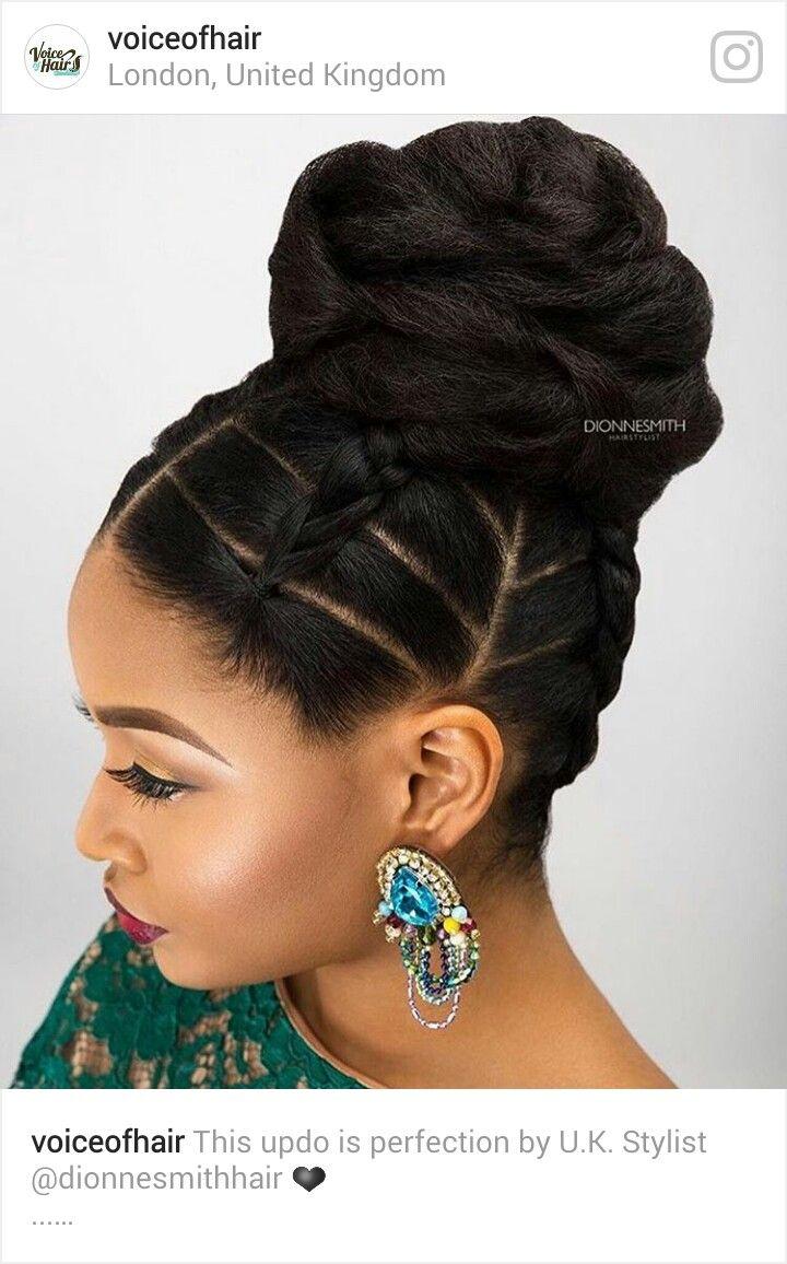 best good idea images on pinterest natural hair natural updo
