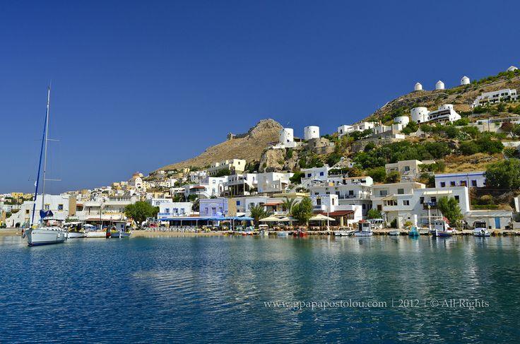 Leros island-Panteli, Greece       by George Papapostolou on 500px