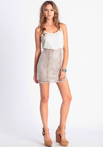 Madame Lace Dress #threadsence #fashion