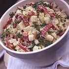 Aardappelsalade met spekjes - recept - okoko recepten