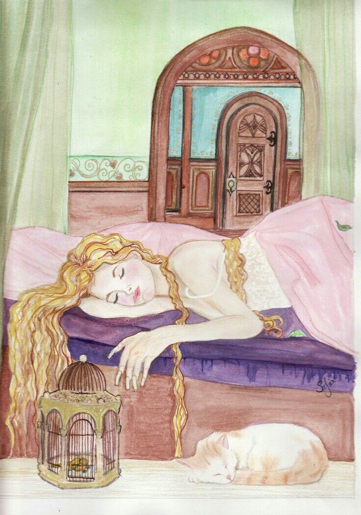 всех картинки к сказке спляча красуня она больше боялась