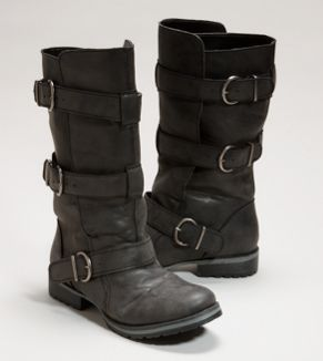 What a cool pair of boots!  (AEO Moto boot)