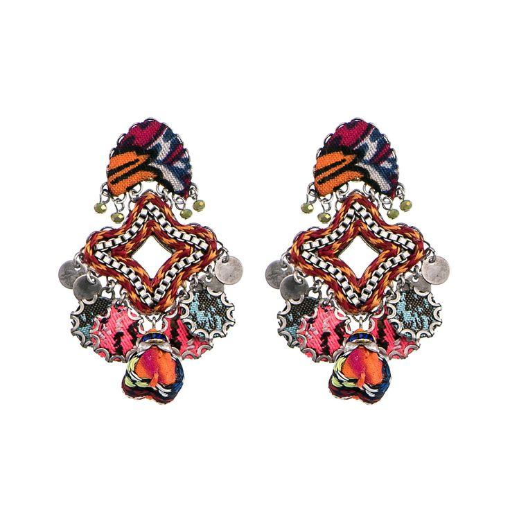 Crimson Queen Flight Earrings Ayala Bar Hip Collection Summer 2016