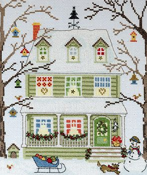 New England Homes - Winter