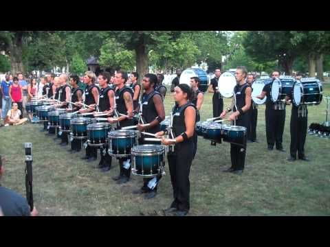 2011 Bluecoats Drumline (Finals Week)  This drum line is SO awesome!!