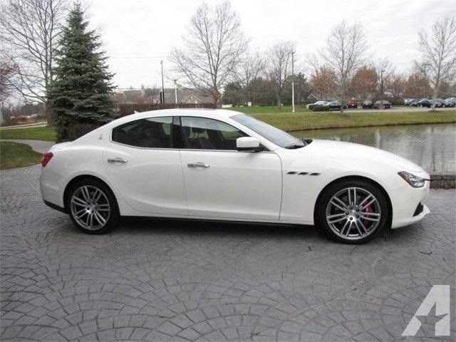 2014 Maserati Ghibli S Q4 Price On Request