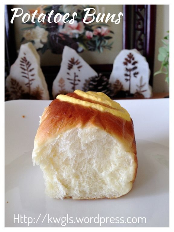 Potatoes Buns (马铃薯餐包)#guaishushu #kenneth_goh  #potatoes_buns  #马铃薯餐包