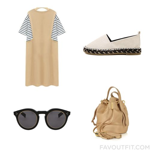Closet Mix & Match With Dress, Crocs Footwear, See By Chloé Shoulder Bag And Tinted Sunglasses From August 2015
