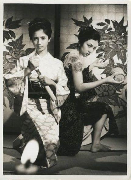 Chieko Matsubara (松原智恵子) and Meiko Kaji (梶芽衣子).