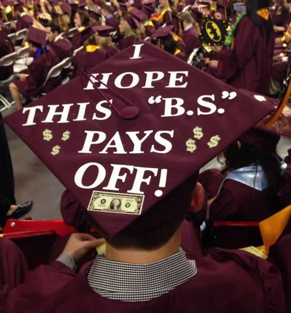 This is the one!!! 15 Funniest Grad Caps - ODDEE