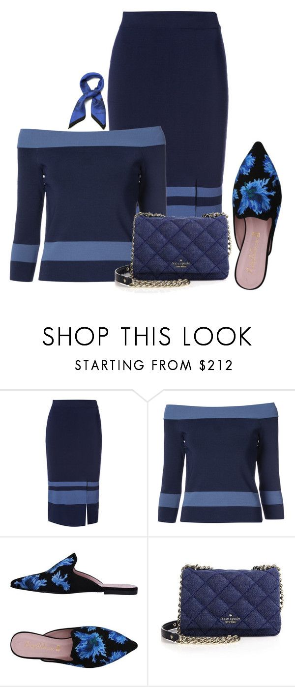 """""""Untitled #184"""" by kingbehaviour on Polyvore featuring Jonathan Simkhai, Pretty Ballerinas, Kate Spade and Mulberry"""