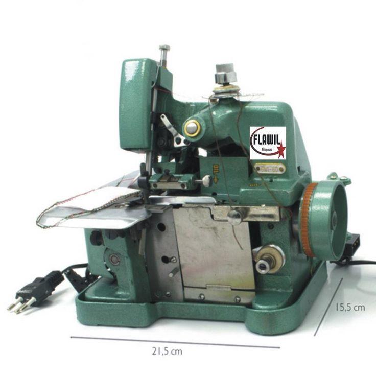 Máquina De Costura Overlock Semi Industrial Overloque