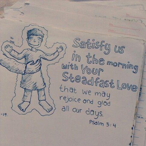 Psalm 5 4