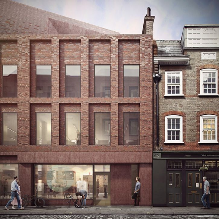 Blossom St 05; 19 | 02 | 2015 Blossom Street Planning Application  Duggan Morris Architects are working as part of a collaborative team of award winning architects and landscape designers including AHMM (masterplanner and lead architect