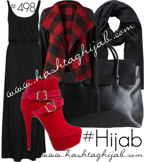Hashtag Hijab Outfit #498 van hashtaghijab met summer maxi dressesONLY summer maxi dress€28-zalando.co.ukParisian faux leather jacket€32-newlook.comHeel booties€23-gojane.comPieces shoulder strap bag€40-pieces.comVero Moda black shawl€17-veromoda.com