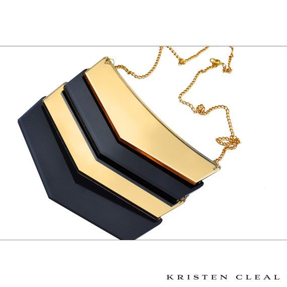 Laser Cut Signature Necklace by #KristenClealDesigns