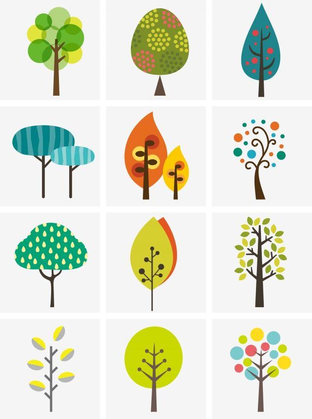 각종 나무 나무 봄 만화 자유형 나무 있습니다 봄 떠는 원기 왕성한 Png 및 벡터 에 대한 무료 다운로드 How To Draw Hands Spring Illustration Peach Blossom Tree